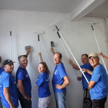 """""""Wir kommen wieder""""- Fazit der freiwilligen Helfer beim Obdach e.V.-Projekt am Freiwilligentag der Metropolregion 2016"""