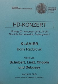 HD – Konzert