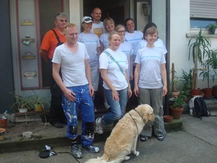 Freiwilligeneinsatz von SAP- Mitarbeitern