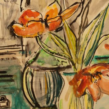 Ausstellung am 28.11.2014 mit Werken von Willibald Kramm und Brigitte Kramm