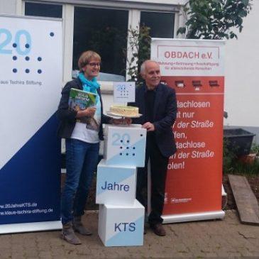 Tschira Stiftung finanziert die Gartengestaltung im Steinzeitweg 3
