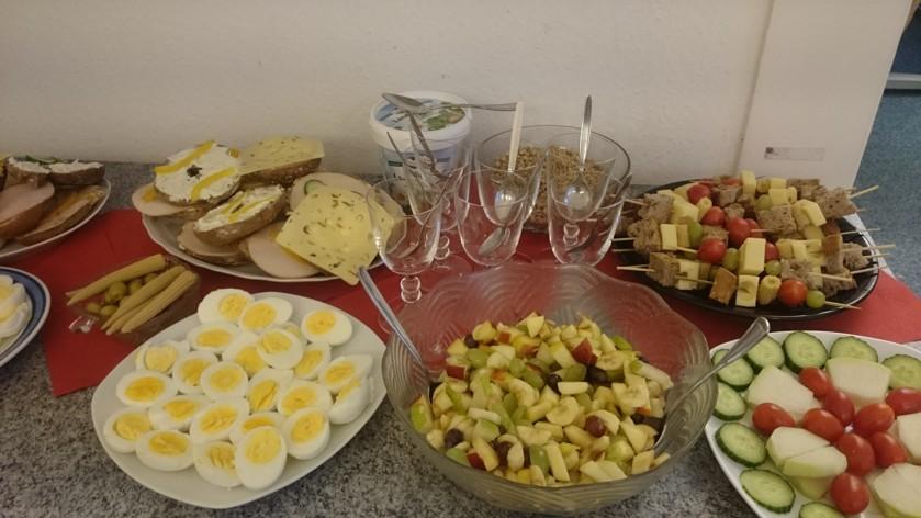 Gesund frühstücken bei OBDACH e.V.
