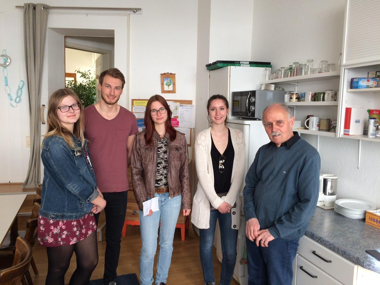 Großer Dank an die Louise Otto-Peters-Schule in Wiesloch