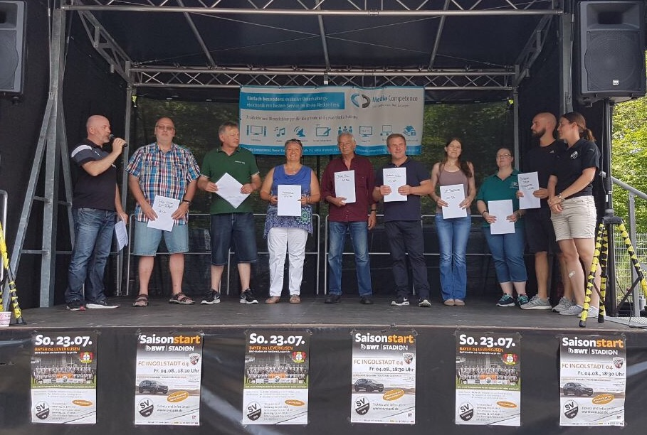 SV Sandhausen spendet 15 Freikarten an OBDACH e.V.
