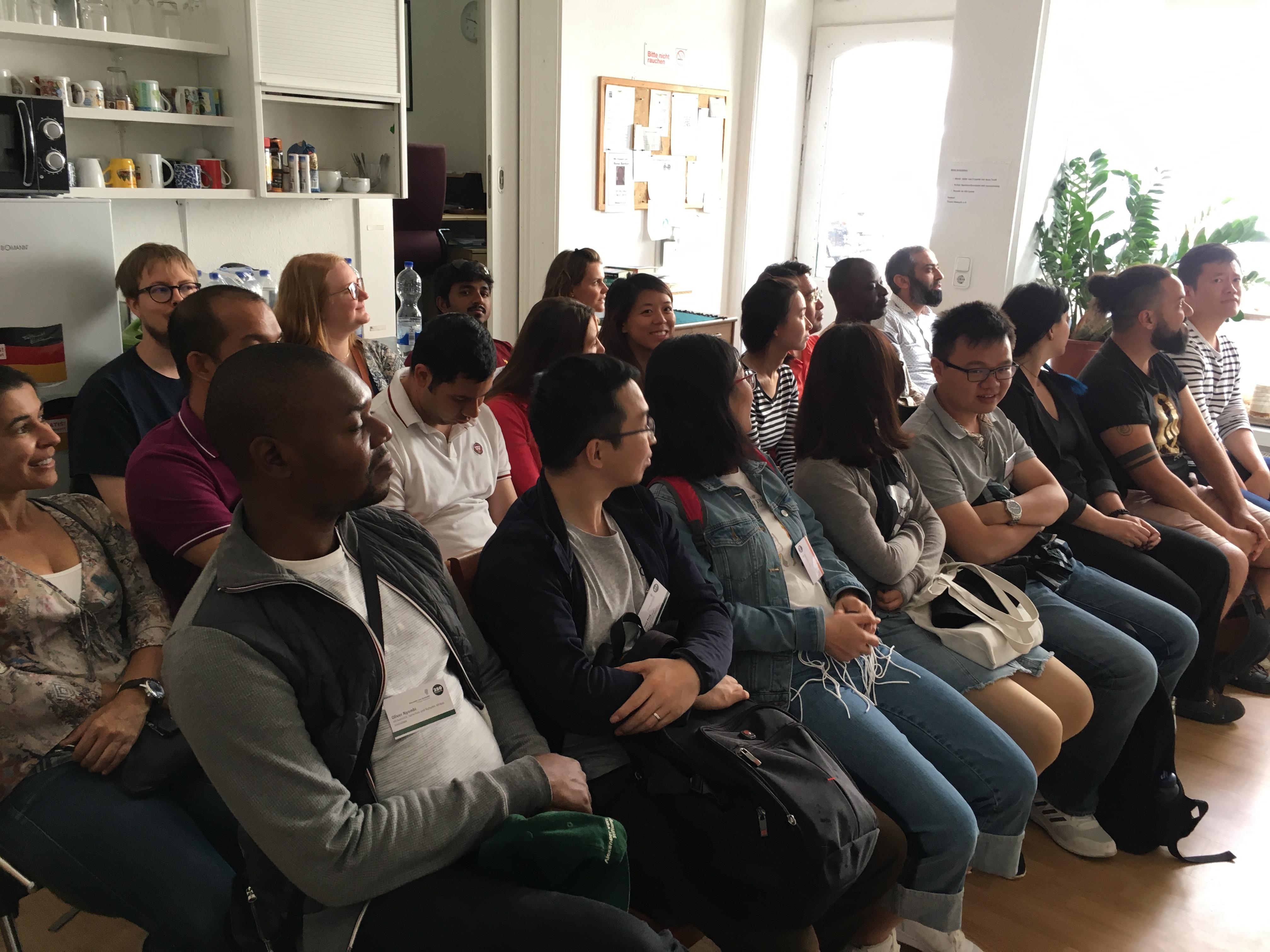 Besuch von Stipendiaten der Alexander von Humboldt Stiftung