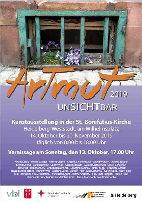 Eröffnung der Aktionswoche: Vernissage der Kunstausstellung ArTmut