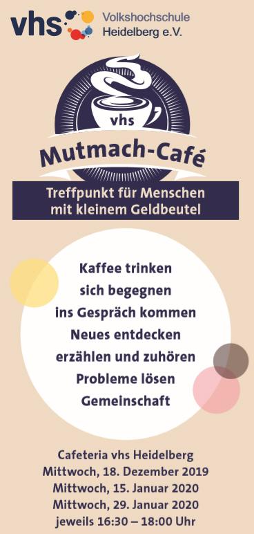 Mutmach-Café der VHS Heidelberg