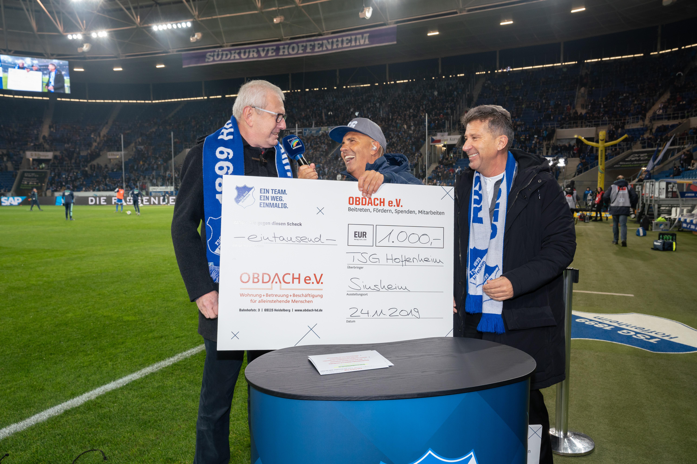 Spende der TSG Hoffenheim