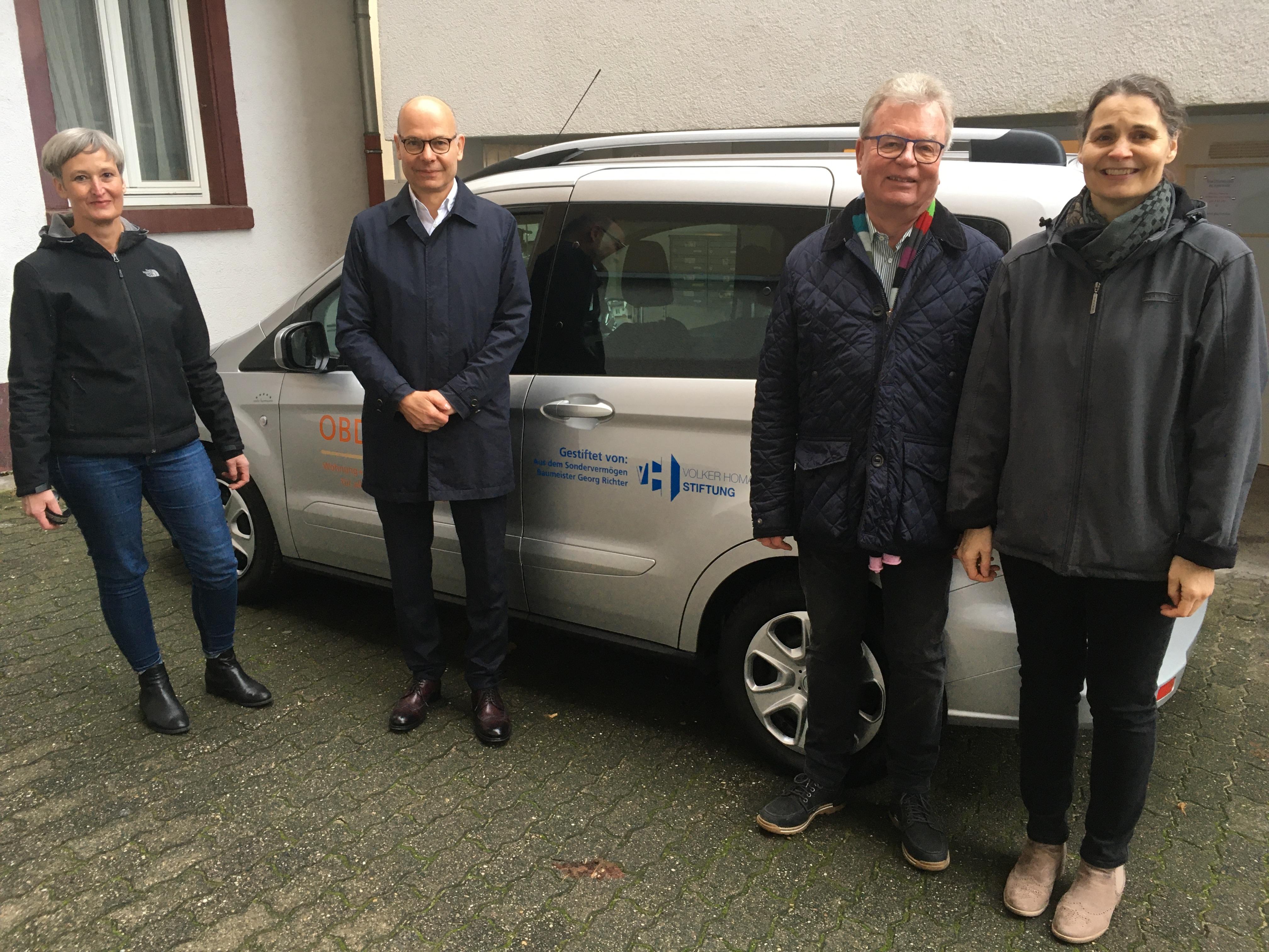 Kooperation mit der Volker Homann-Stiftung