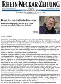Lesung von Richard Brox